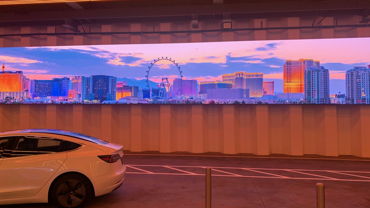 13 Action News gets first look at underground tunnel at Las Vegas Convention Center