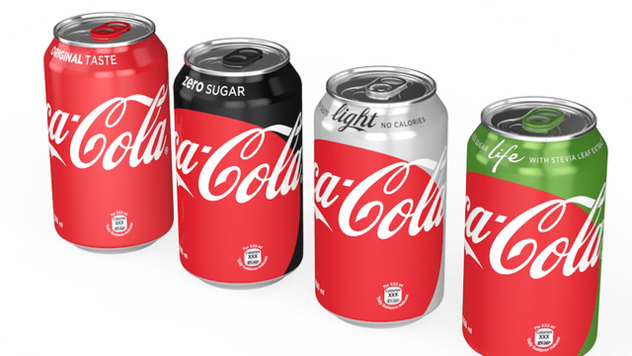 Coke introduces new unified look for its sodas