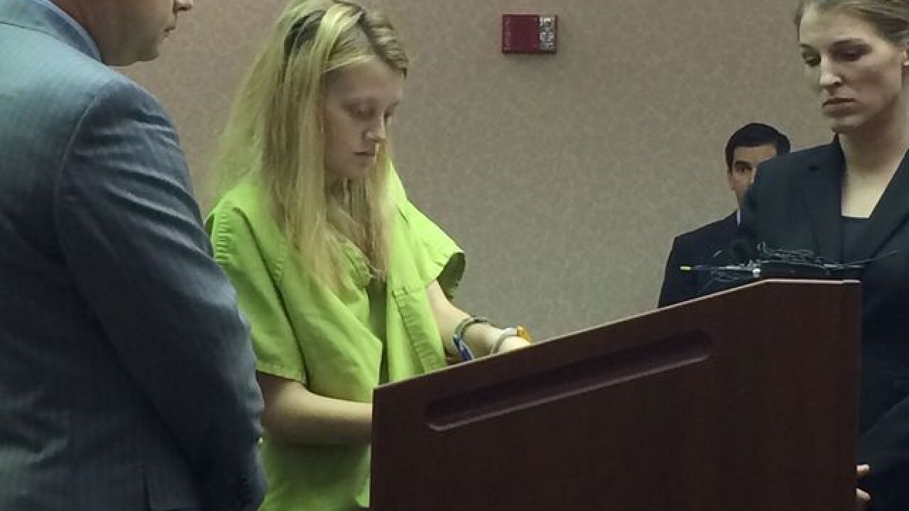 Mom pleads guilty to charges in daughter's death