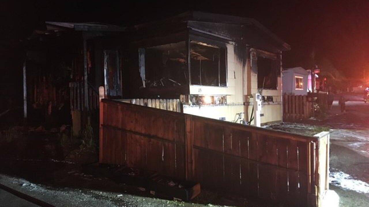 KCFD contains fire in east Bakersfield