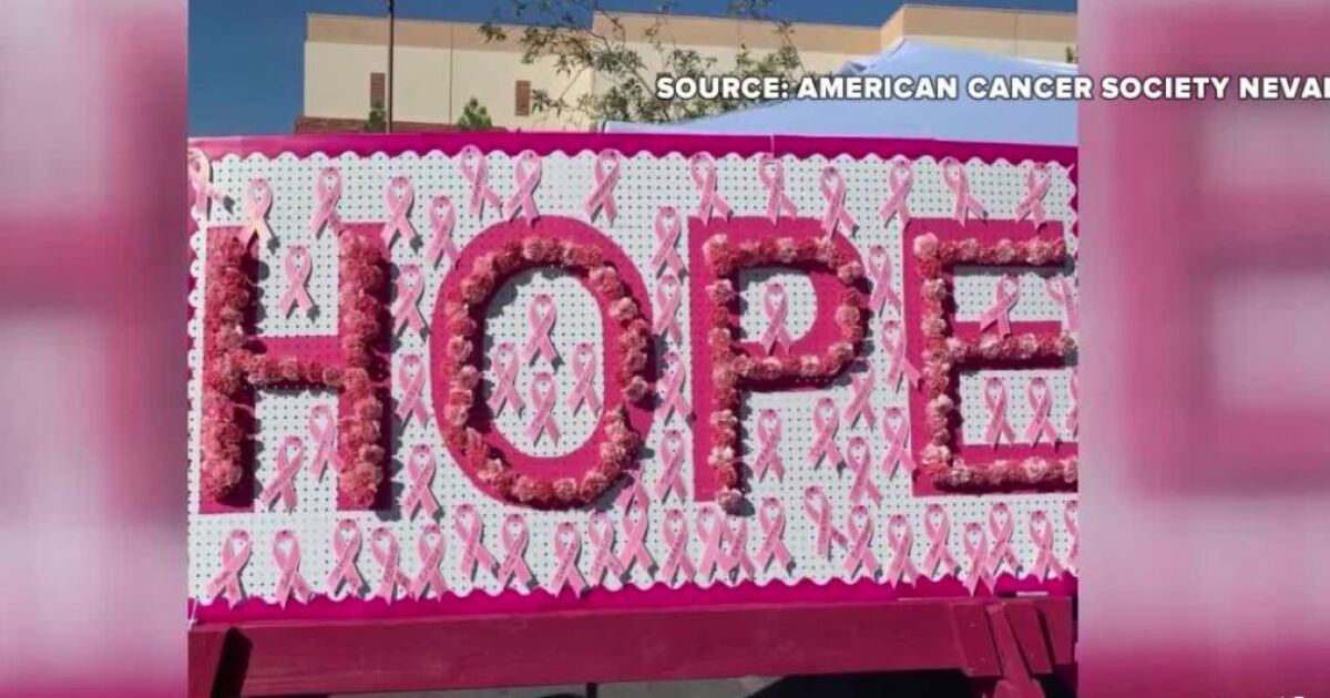 Making Strides Against Breast Cancer event held in Las Vegas