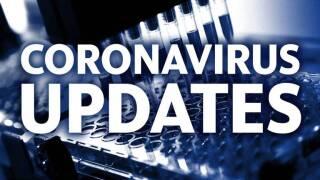 Coronavirus Updates blue