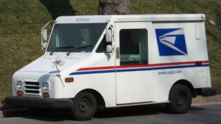 USPS postal service truck