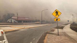 Fire near Lame Deer causes road closures, prompts evacuations