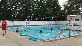 The Greenbrier Family YMCA, along with the other YMCA of South Hampton Roads, opened the pools for recreational swimming over the Fourth of July weekend.