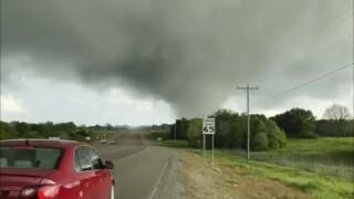 Five dead after severe weather tears through Texas, Oklahoma, Louisiana