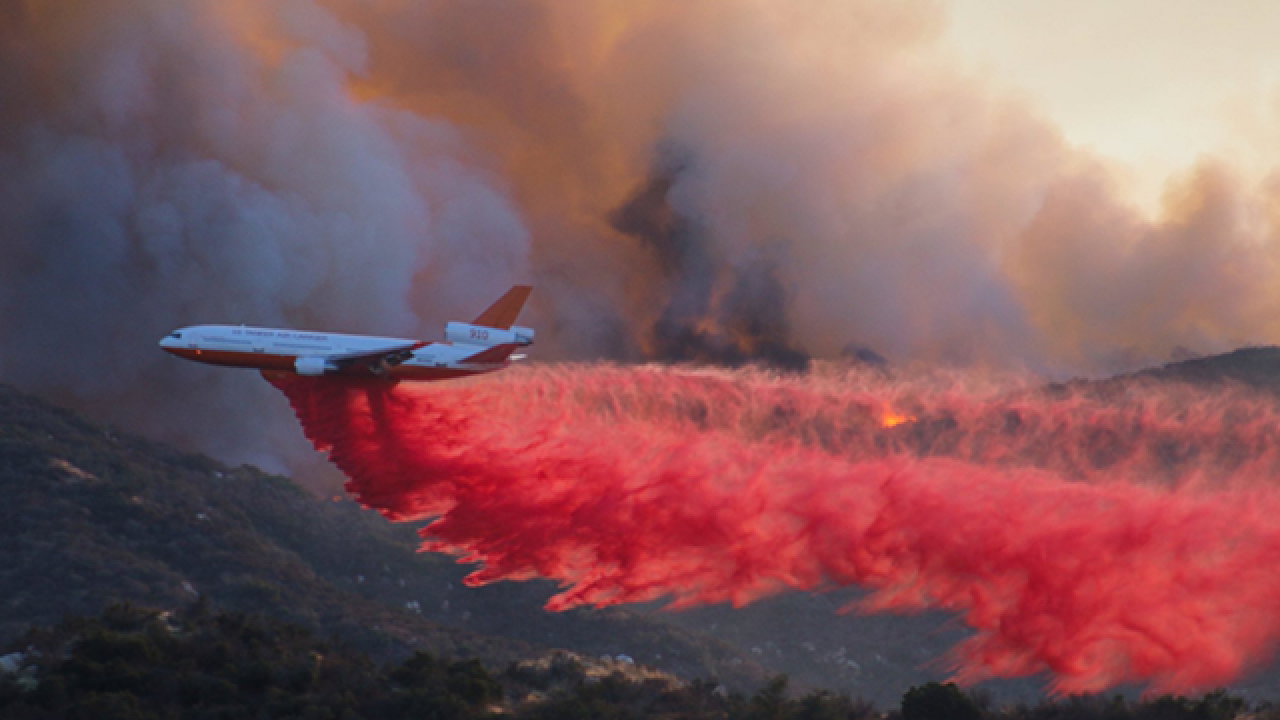 Wildomar Fire Scorches Hundreds Of Acres Near Lake Elsinore