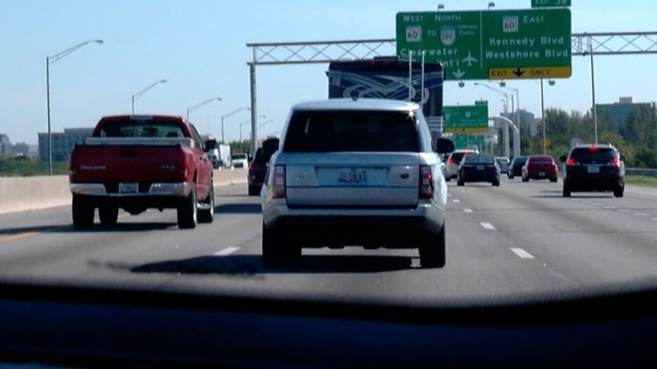 FDOT announces no toll lanes for I-275 in Tampa