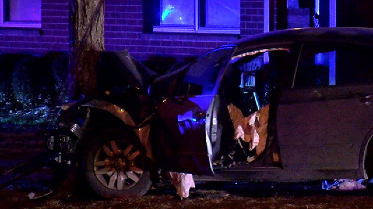 6-month-old hurt in Winton Hills crash dies at Cincinnati Children's Hospital