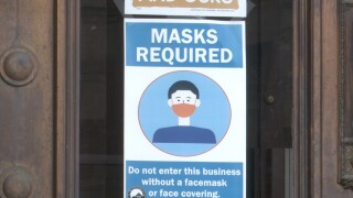COVID-19 Face Mask Sign