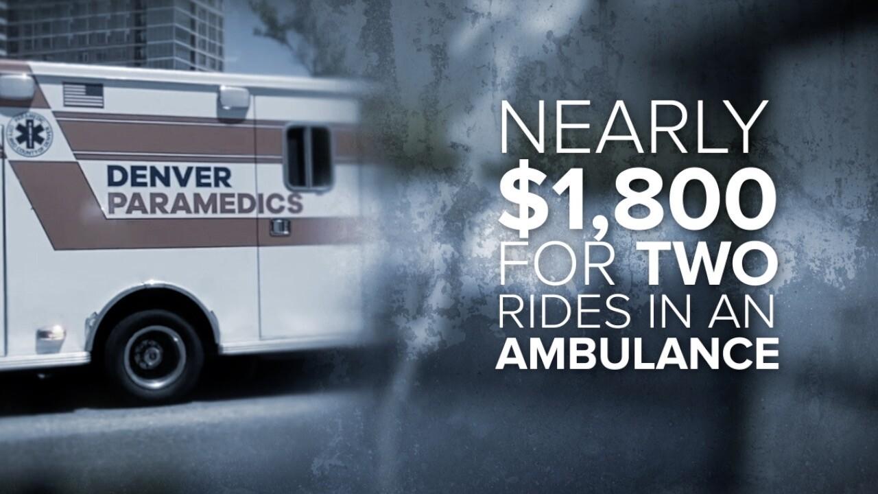 Public ambulances, fire left off Colorado's surprise medical bill law