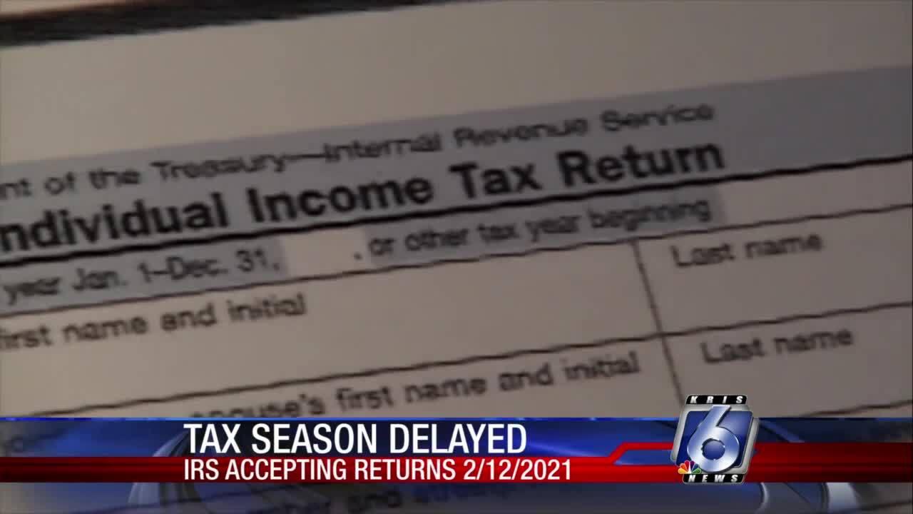 Tax season starts later this year