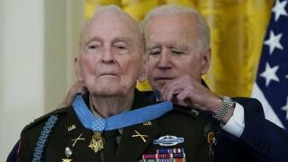 President Joe Biden, Ralph Puckett