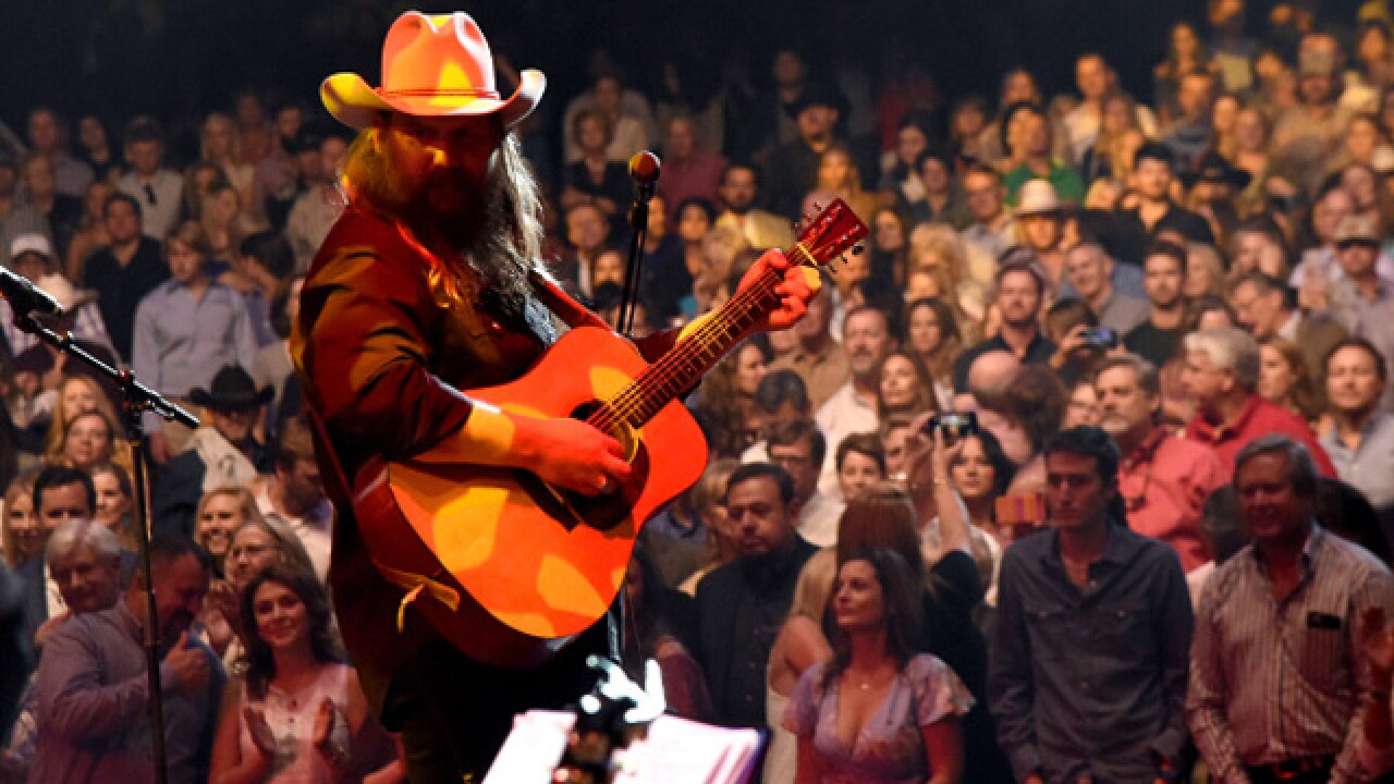 Chris Stapleton to perform at Ruoff Home Mortgage Music Center in Noblesville on Friday, Oct. 5