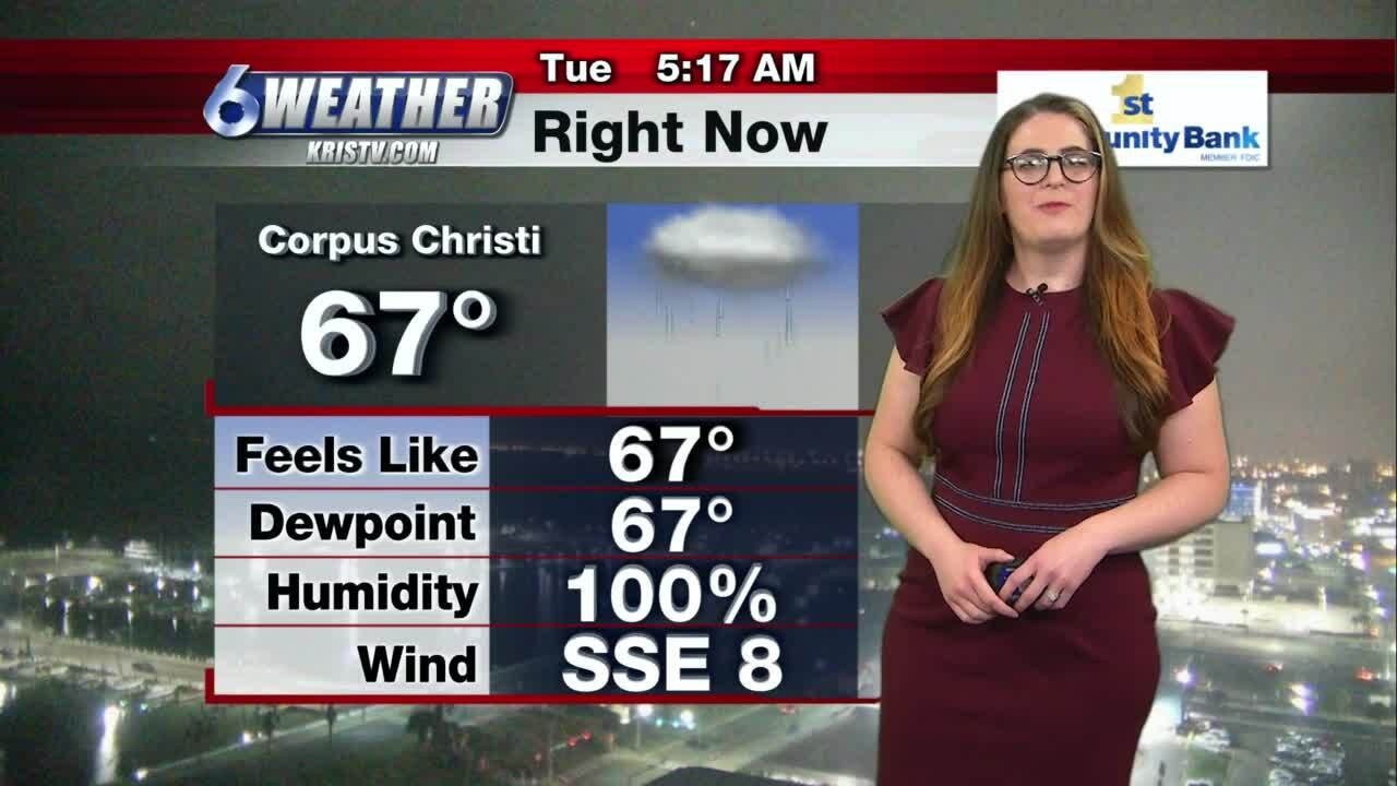Stefanie Lauber's weather for March 16, 2021