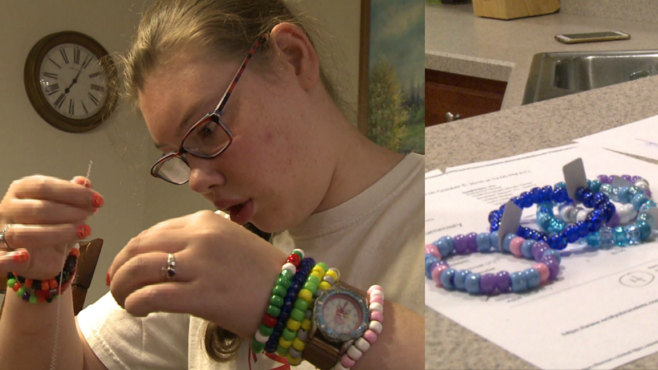 Chesterfield student diagnosed with cerebral palsy finds purpose in bracelet beadingbusiness