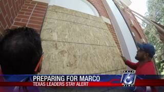 Even as Marco and Laura turn east, Texans prepare for storms