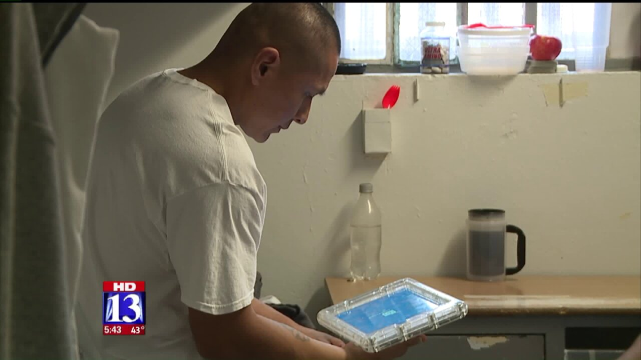 Program gives inmates tablets to help re-integrate into society