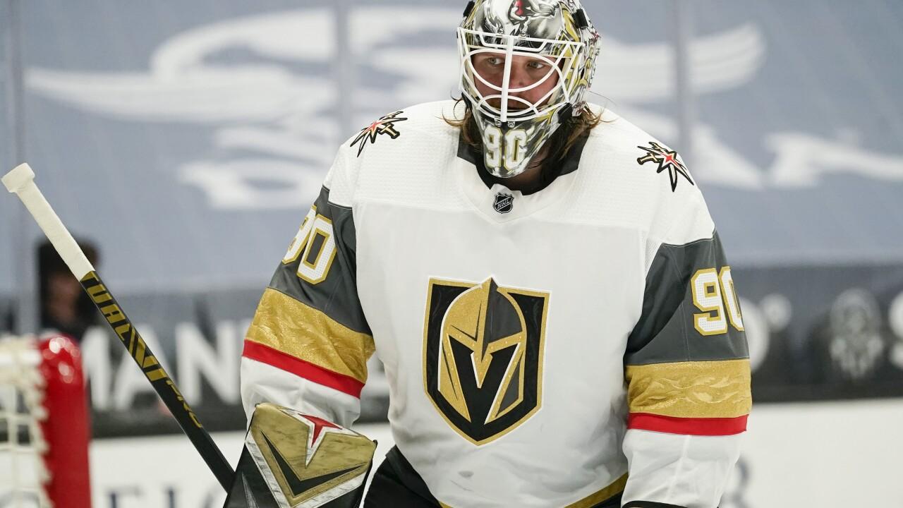 Golden Knights Ducks Hockey