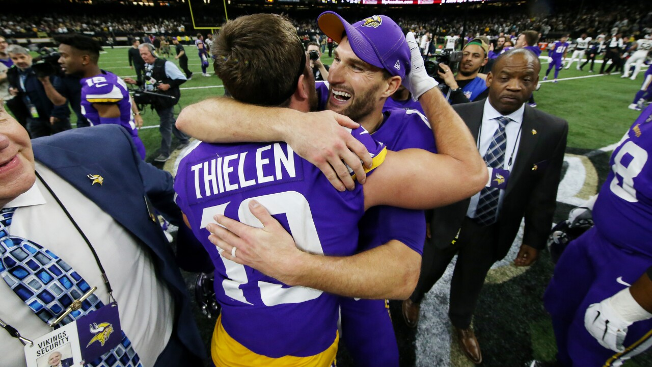 Kirk Cousins earns first playoff win as Vikings upend Saints 26-20 in overtime
