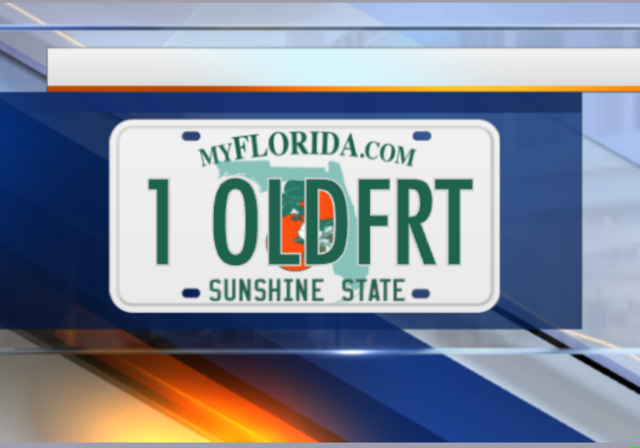 PHOTOS: Vanity license plates denied in Florida in 2017