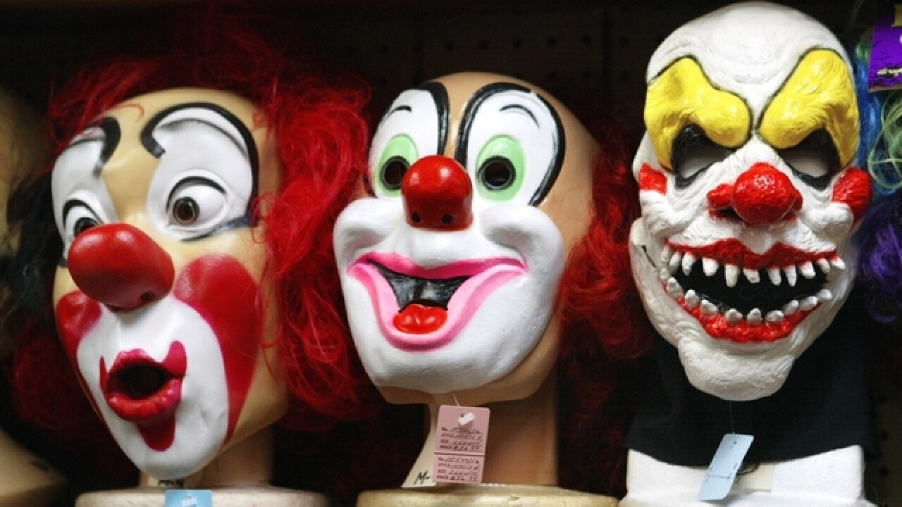 Creepy clowns spotted in Annapolis