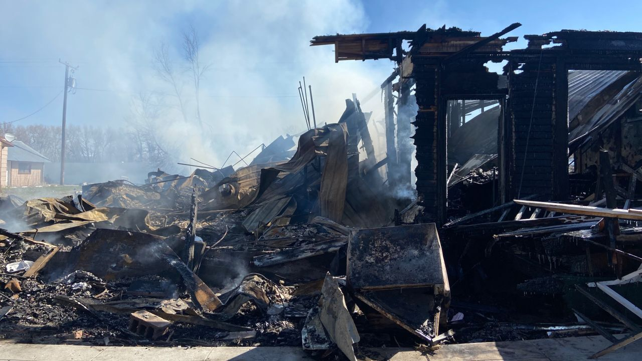 Choteau building destroyed by fire