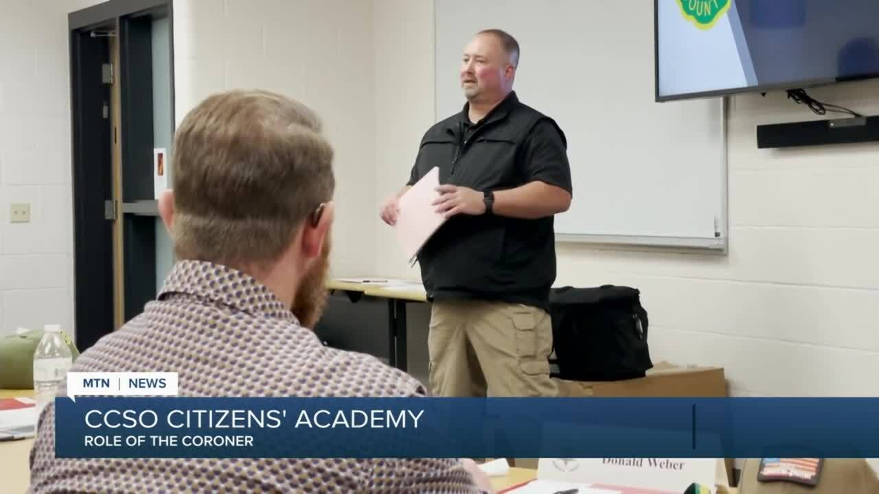 Citizens' Academy: The role of the Cascade County Coroner