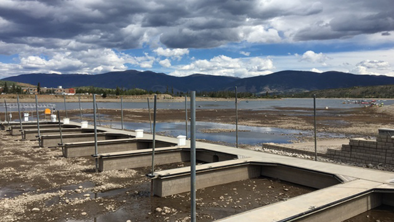 Reservoirs seeing historic low water levels as extreme drought conditions creep across Colorado