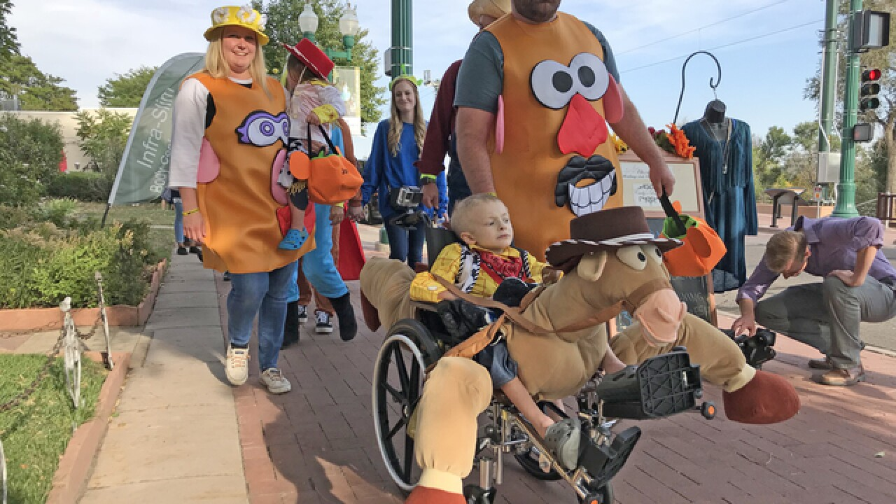 Olathe man designs inclusive Halloween costumes