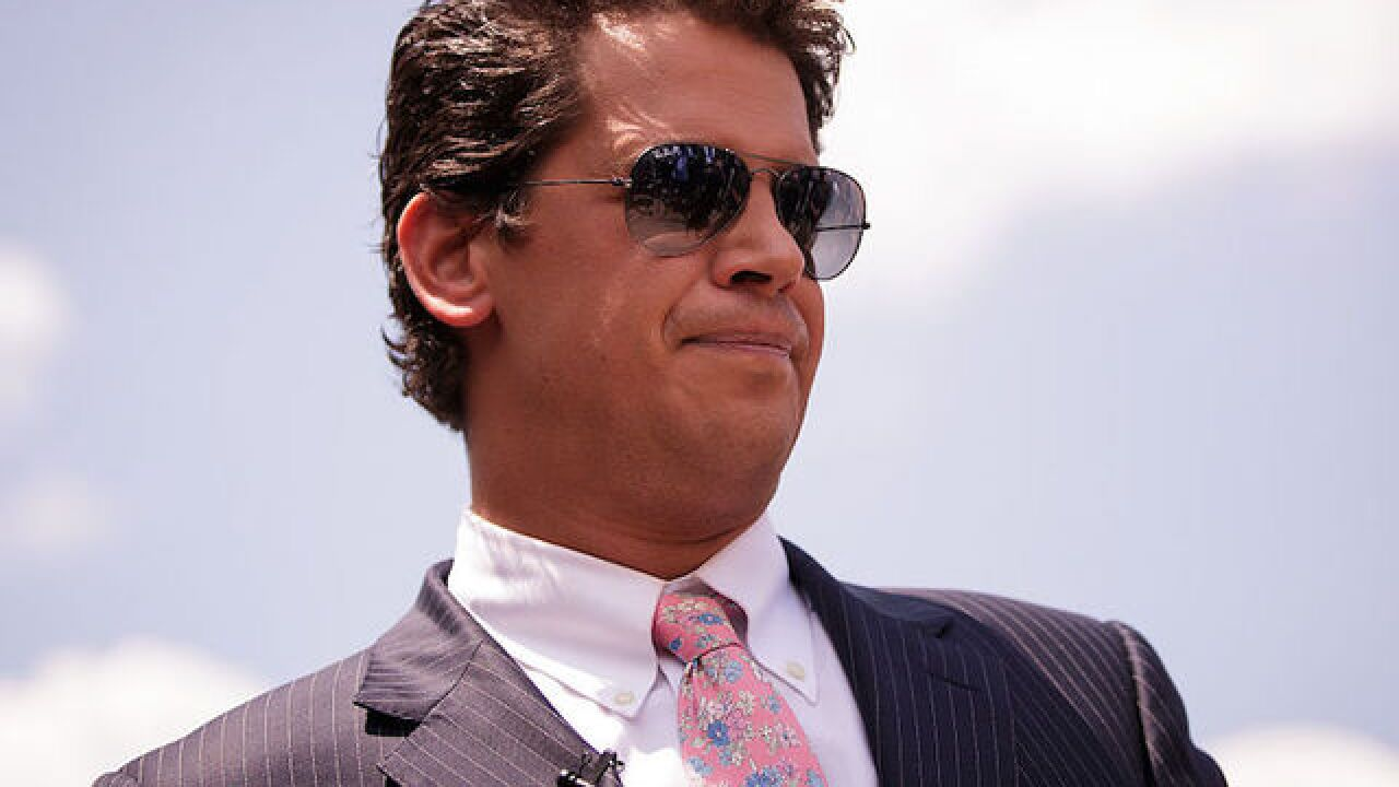 Milo Yiannopoulos' book canceled by Simon & Schuster