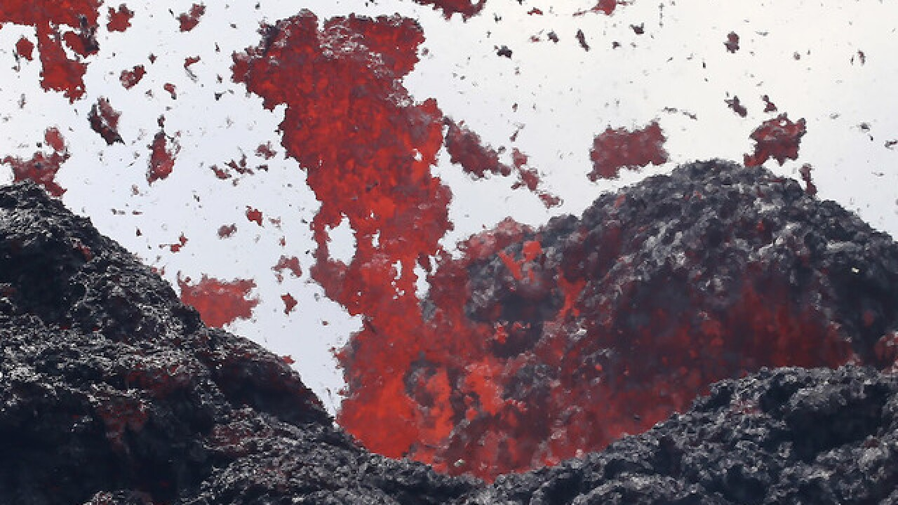 New crack from Hawaii volcano is spewing lava near geothermal plant