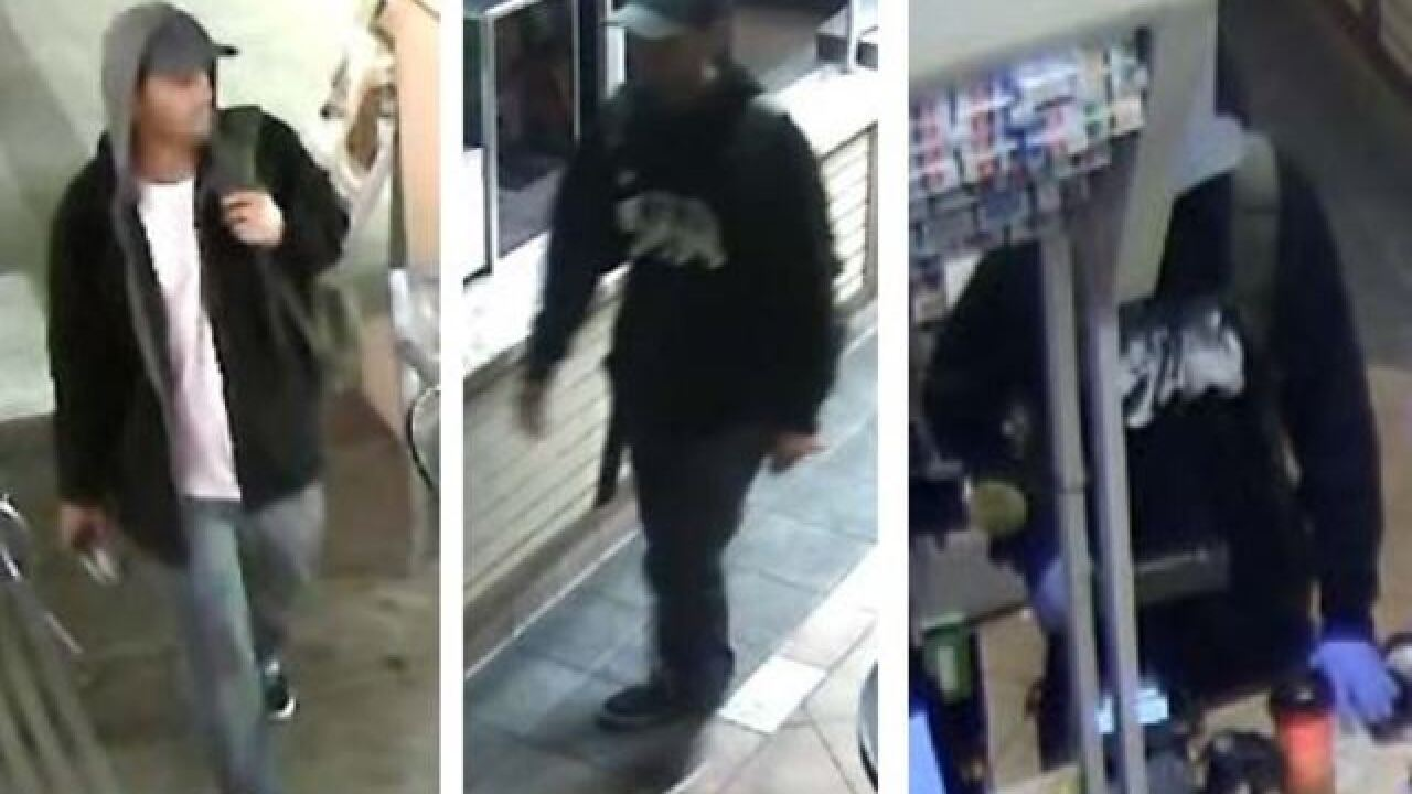 SDPD seek Carmel Valley armed robbery suspects