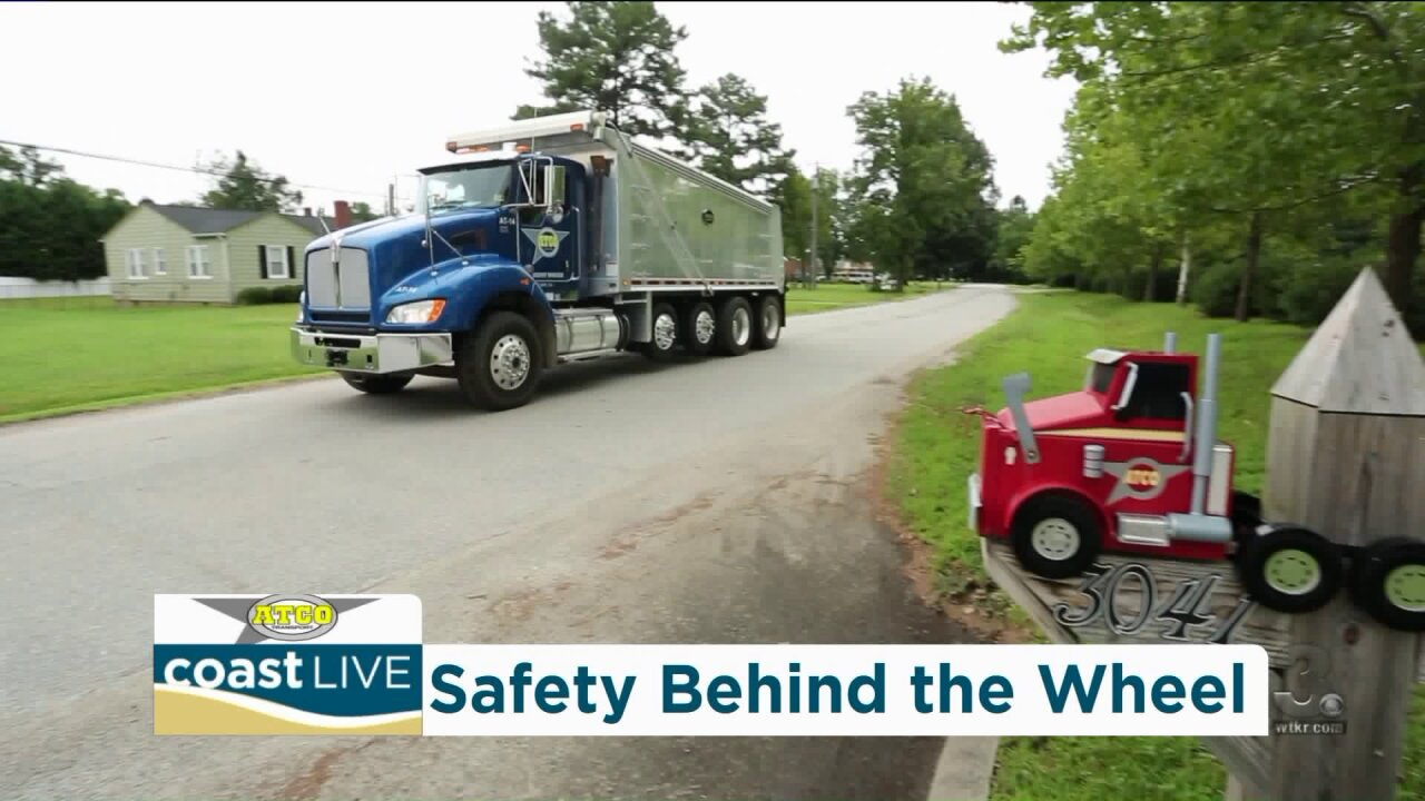 Safety training and careers for truck drivers on Coast Live