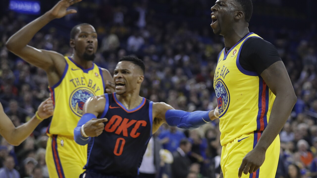 super popular c5e7d 30f96 Poll: Peers vote Westbrook, Green most overrated NBA players