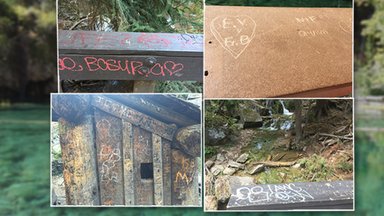 Hanging Lake Trail closed Saturday for graffiti removal