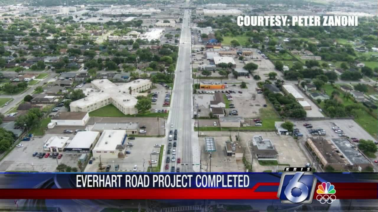 Everhart Road project completed