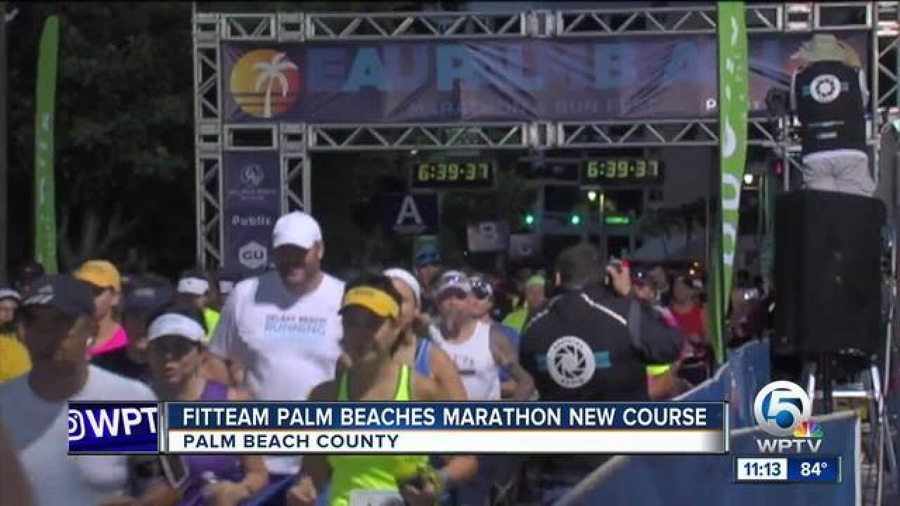 Changes coming to Palm Beaches Marathon