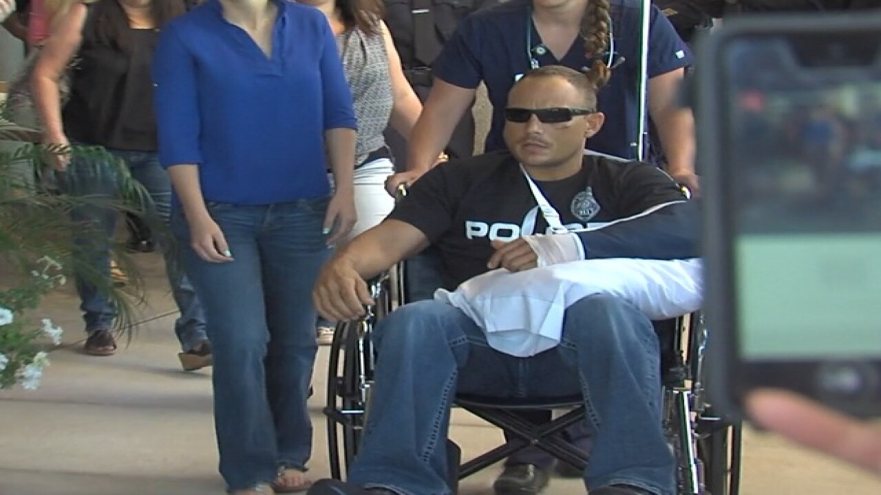 TODAY: Chandler cop to be released from hospital
