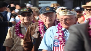 Thousands gather at Pearl Harbor for anniversary