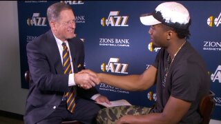 3 Questions With Bob Evans: Jazz star Donovan Mitchell talks success, extending a helpinghand