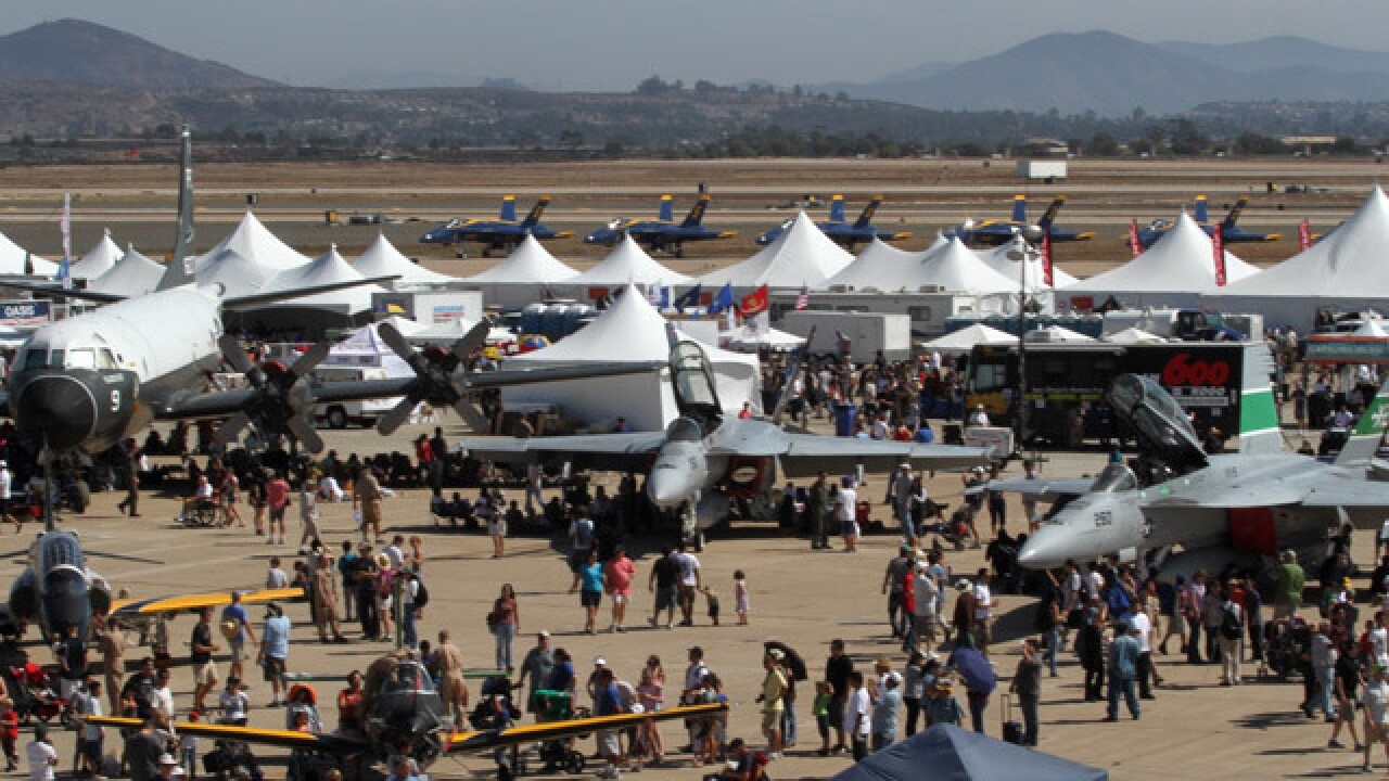 MCAS Miramar Airshow directions, parking, maps