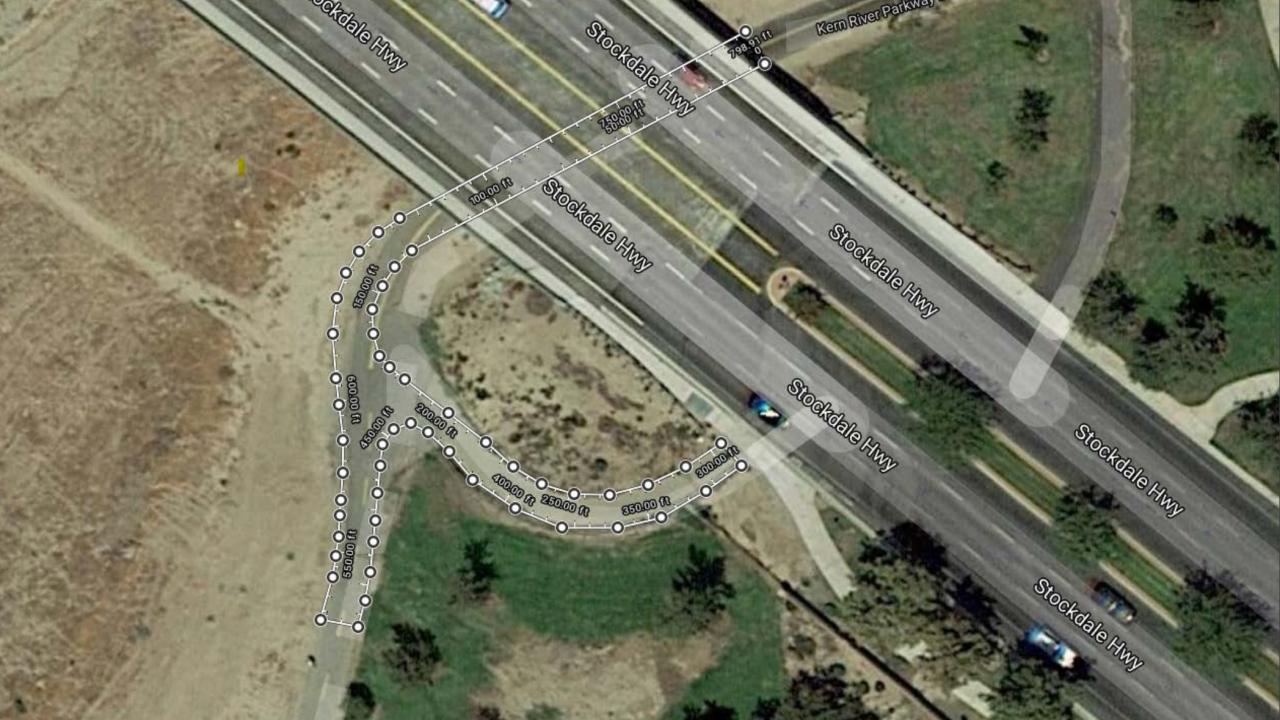 Stockdale Highway Bike Path