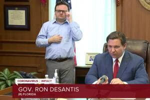 Gov. Ron DeSantis issues 'stay at home' order in Florida