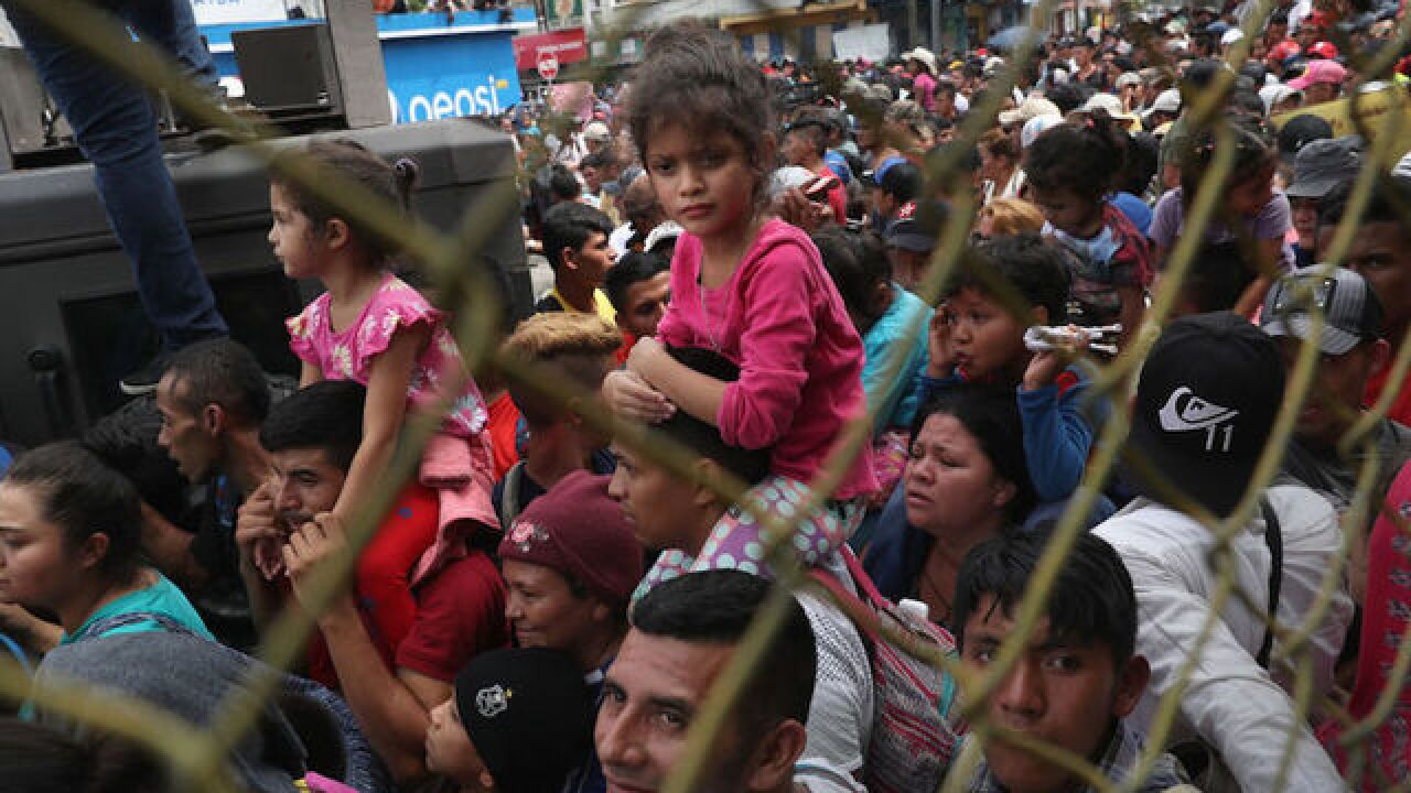 A new migrant caravan is forming, and the Trump administration is watching