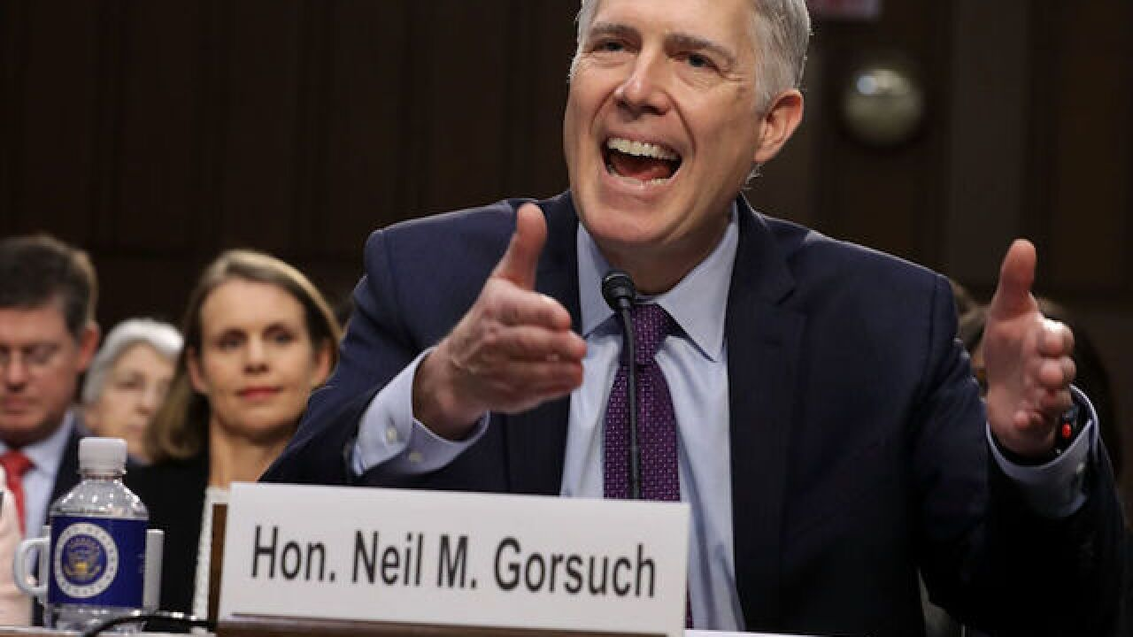 McConnell, Schumer square off ahead of Gorsuch votes