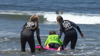 Surf clinic aims to empower kids with special needs