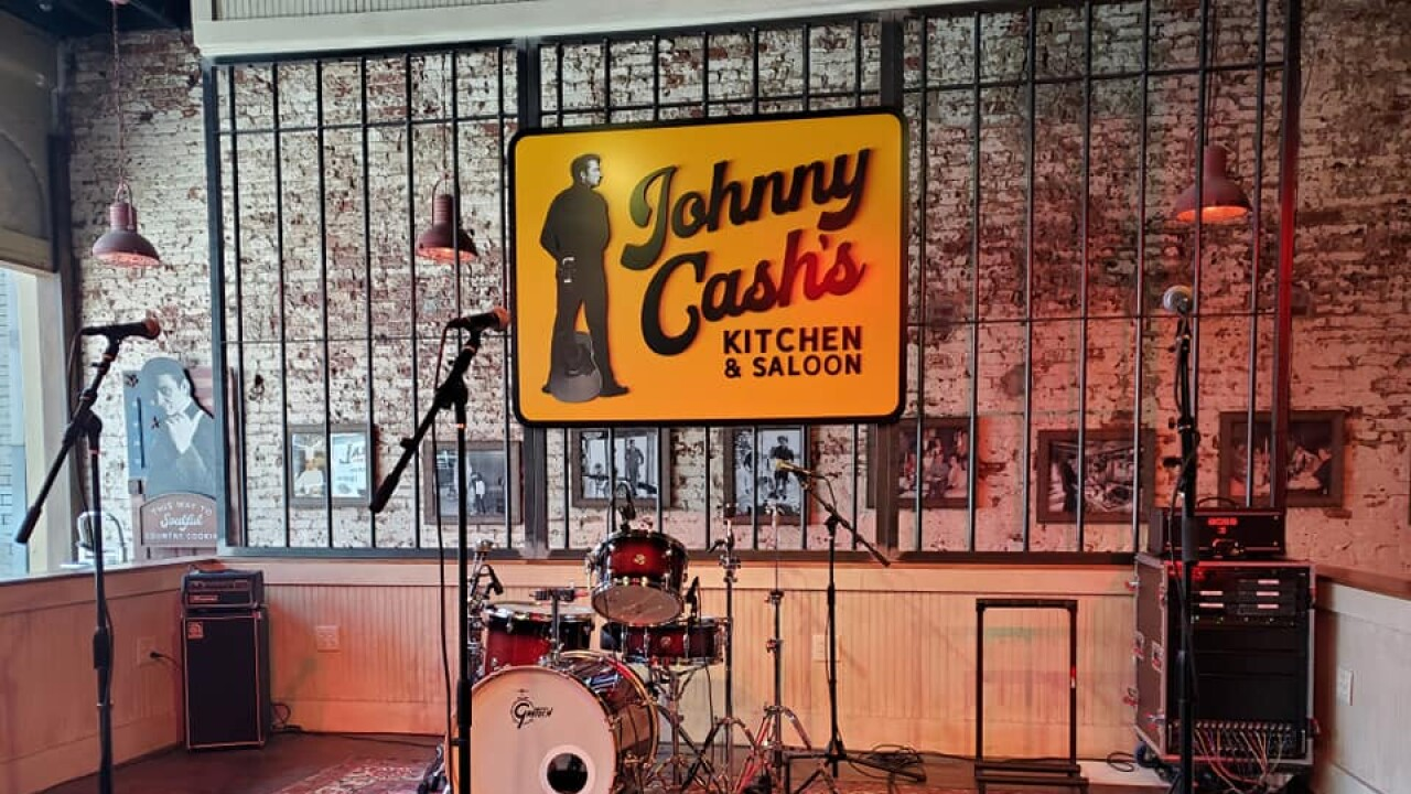 Johnny Cash S Kitchen And Saloon Opens In Nashville
