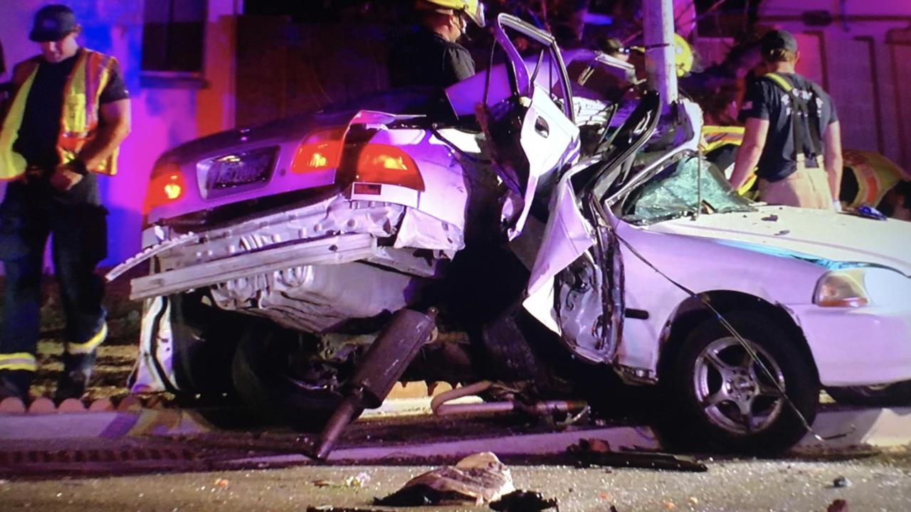 Deadly crash near 35th Avenue and Thunderbird road