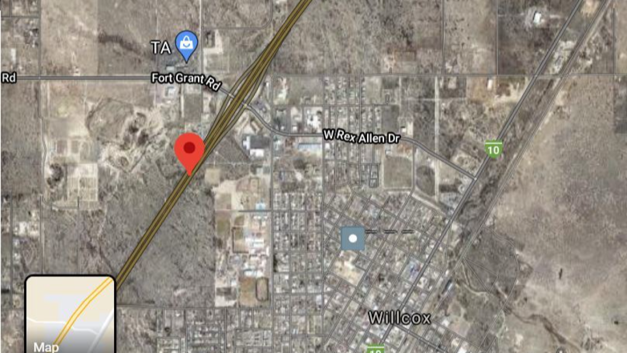 Westbound Interstate 10 was shut down near Willcox Thursday due to a law enforcement incident.